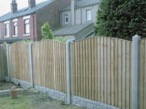 Feathered Edge Fencing Panel Garden Fence Panels